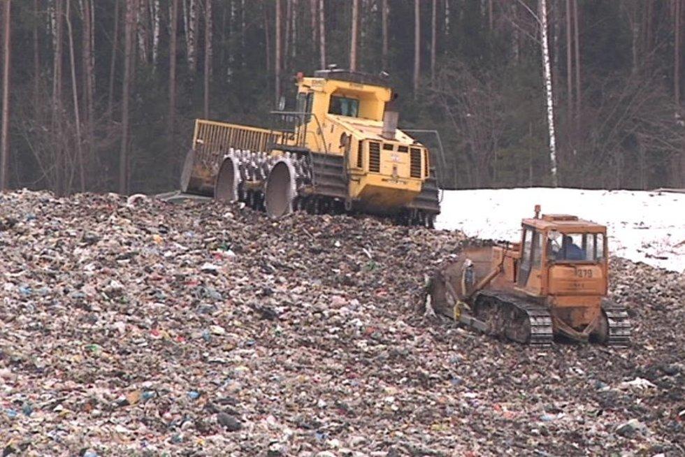 Kazokiškių sąvartynas (nuotr. TV3)