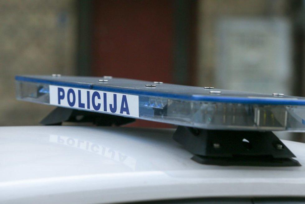Policijos automobilis (nuotr. Fotodiena.lt)