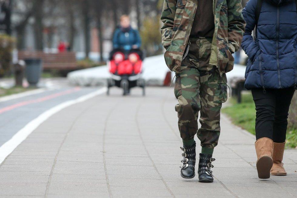 Žmonės Vilniaus gatvėse  (nuotr. Fotodiena.lt)