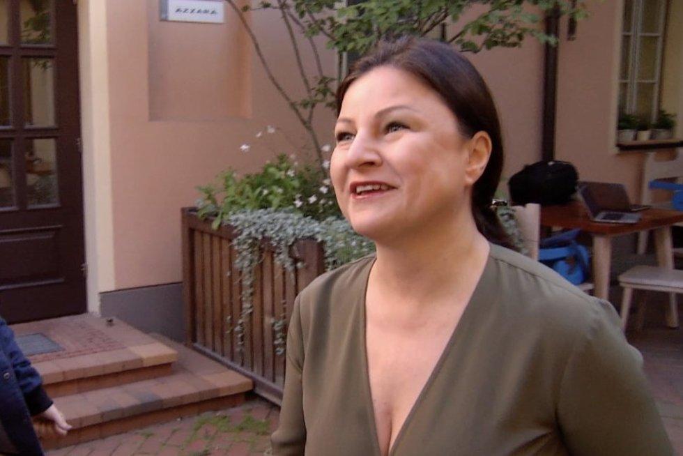 Agnė Zuokienė (nuotr. stop kadras)