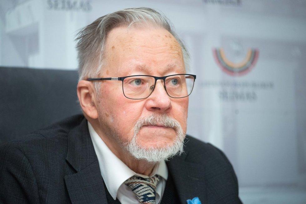 Vytautas Landsbergis (nuotr. Fotodiena/Justino Auškelio)