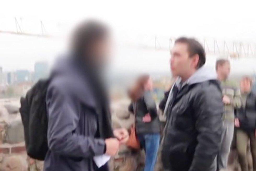 Vilniuje sumuštam ekvadoriečiui padėti atsisakiusi policija: nėra prasmės piktintis