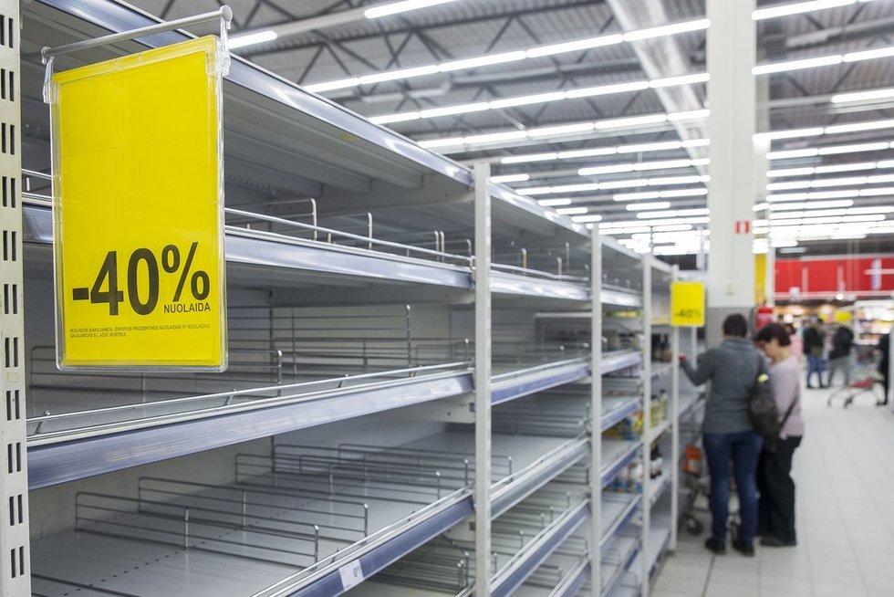 Parduotuvė (nuotr. Fotodiena.lt/Roko Lukoševičiaus)
