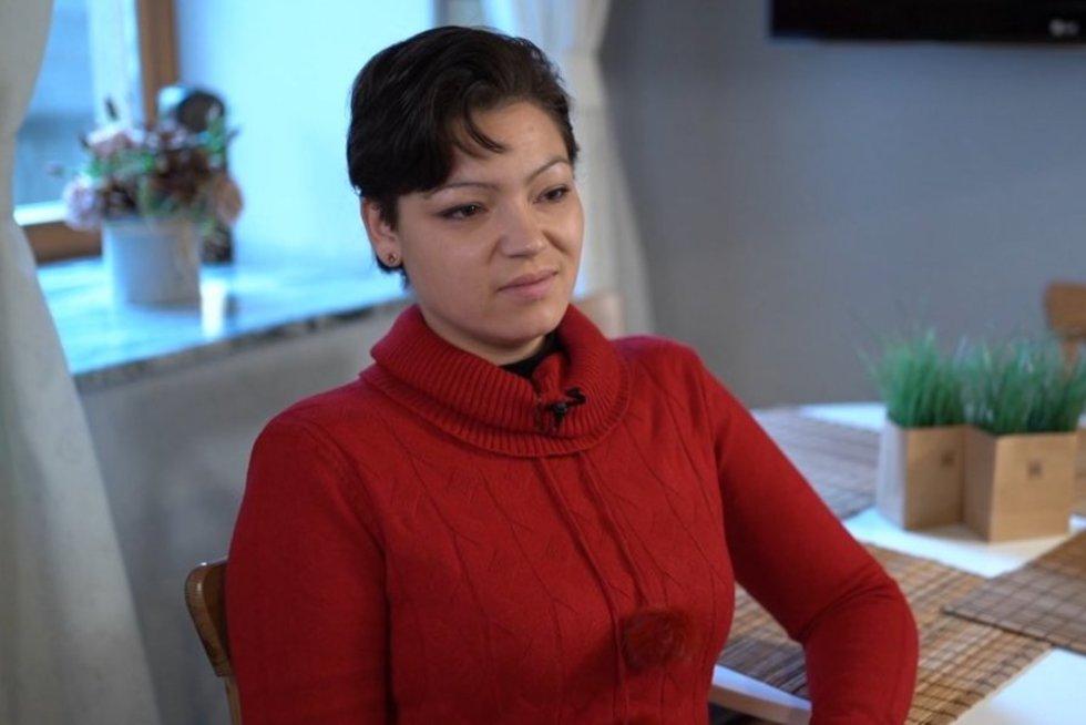 Luiza Rinkevičiūtė (nuotr. stop kadras)