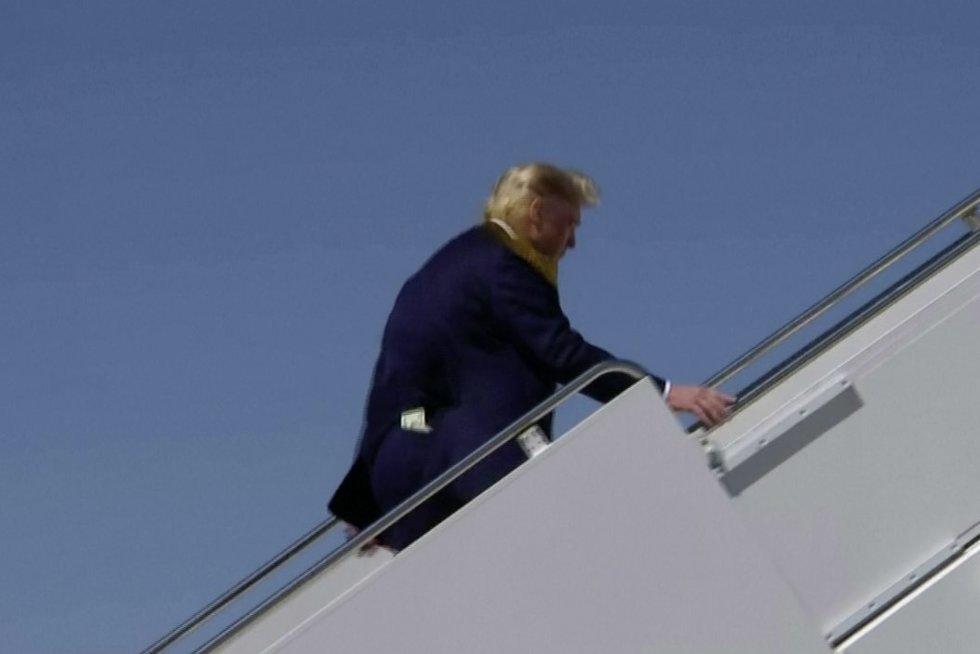 Donaldas Trumpas (nuotr. stop kadras)