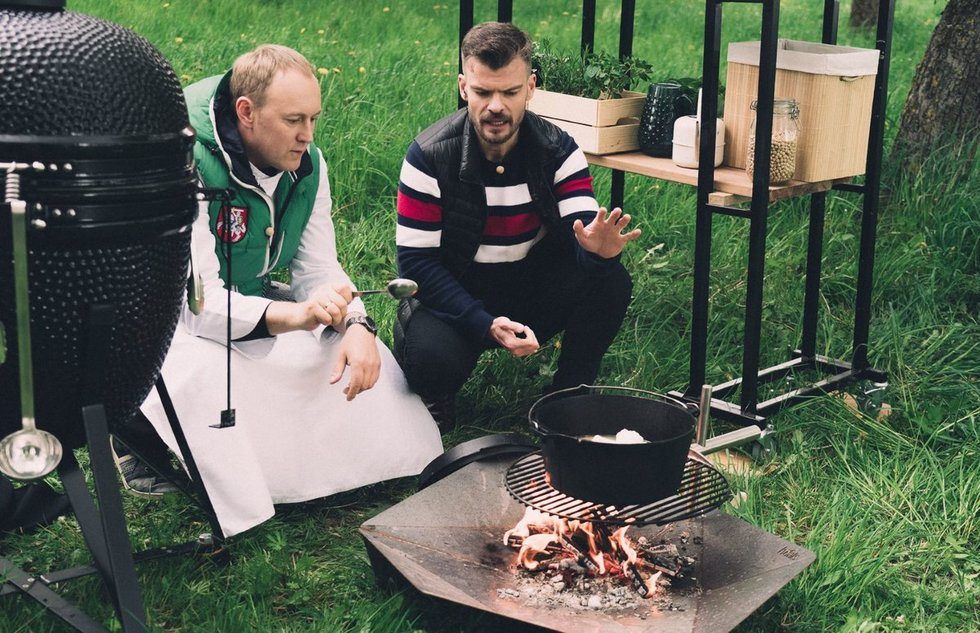 Tomas Rimydis ir Mindaugas Rainys