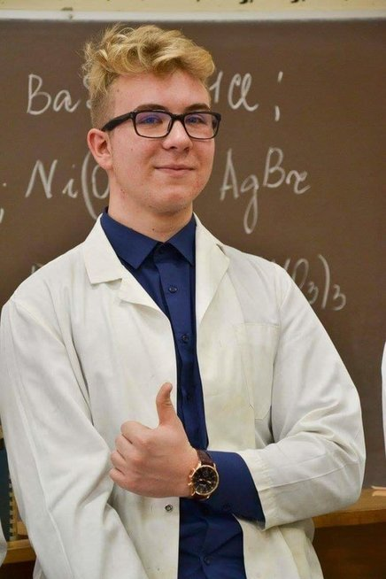 Lukas savo ateitį sies su medicina