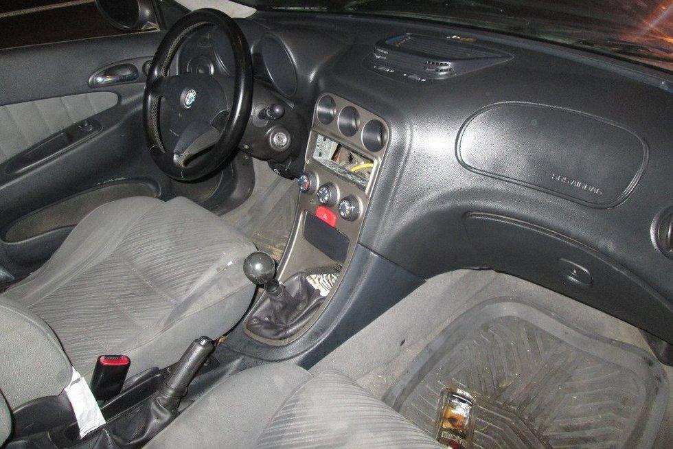 Neblaivi vairuotoja (nuotr. Policijos)