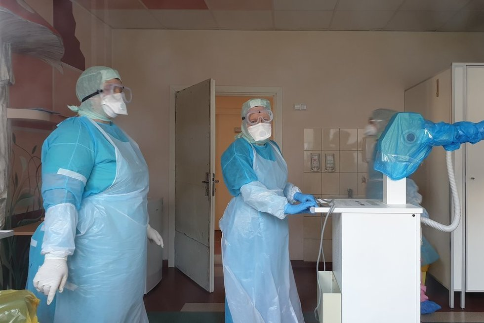 Koronavirusas plinta (nuotr. Raimundo Maslausko)