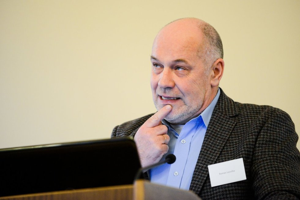 Romas Lazutka (nuotr. Fotodiena.lt/Ievos Budzeikaitės)