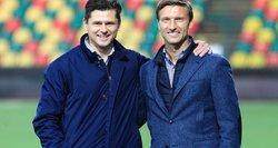 """Lietuviai, subrendę futbolo """"Vatikane"""": nerealus jausmas būti to dalimi"""