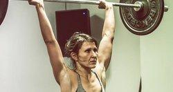 Viena pajėgiausių šalies CrossFit'o atlečių Rima: super mergaitės irgi kartais verkia