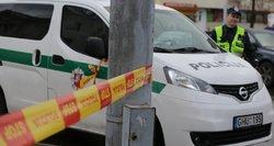 Gaudynės Pakruojo rajone: įžūlūs girtuokliai taranavo policijos automobilį