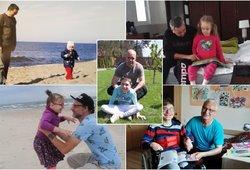 Lietuvos tėčiai, kurių pasiaukojimas veria širdį: nuo vaikų nesitraukia nė per žingsnį