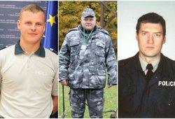 Lietuva jų nepamirš: tragiškos nužudytų policijos pareigūnų istorijos