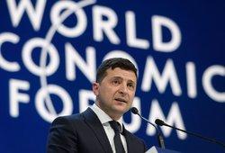 Ukrainos prezidentui gresia bauda: policija tiria galimą karantino pažeidimą