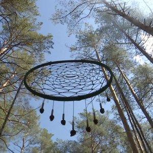 Indėnų legendomis apipintos sapnų gaudyklės rekordas priklauso Lietuvai