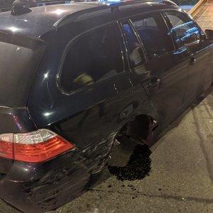 """Naktinė dviejų """"BMW"""" avarija Vilniuje: alkotesteris išdavė kaltininką – 2,5 promilės"""