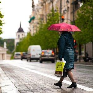 Orų permainos Lietuvoje: saulės spinduliais džiaugsimės neilgai
