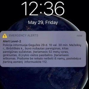 Įspėjimai Mažeikių rajono gyventojams: neikite iš namų