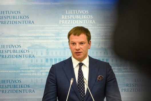 Ministras Vilius Šapoka (nuotr. Fotodiena/Justino Auškelio)