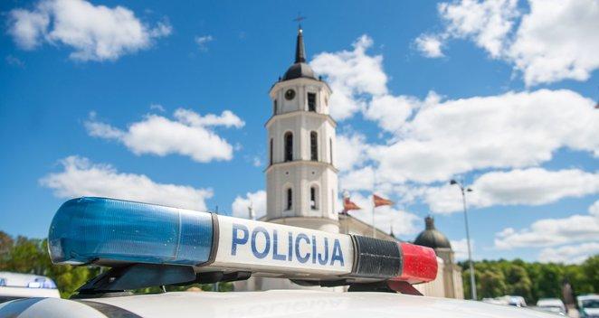 Vilniuje pagerbtas nužudytas policijos pareigūnas
