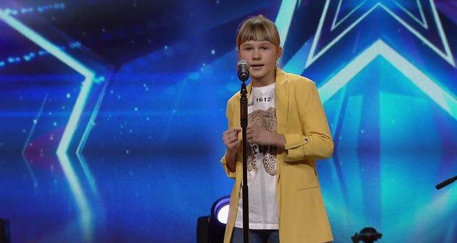 """Prikaustantis 12-metės pasirodymas """"Lietuvos talentuose"""": nusilenkė net scenos grandas"""