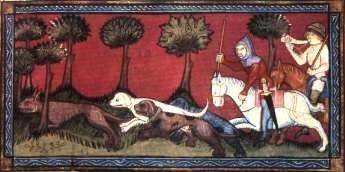 Medžioklė viduramžiais (wikipedia.org nuotr.)
