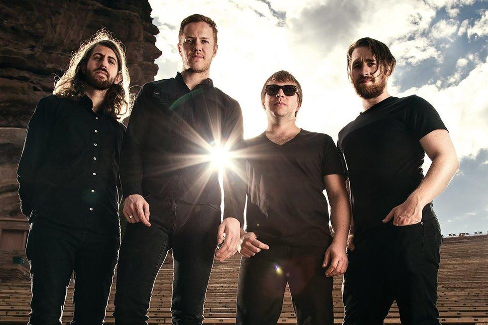 """""""Imagine Dragons"""" grupė (nuotr. Organizatorių)"""