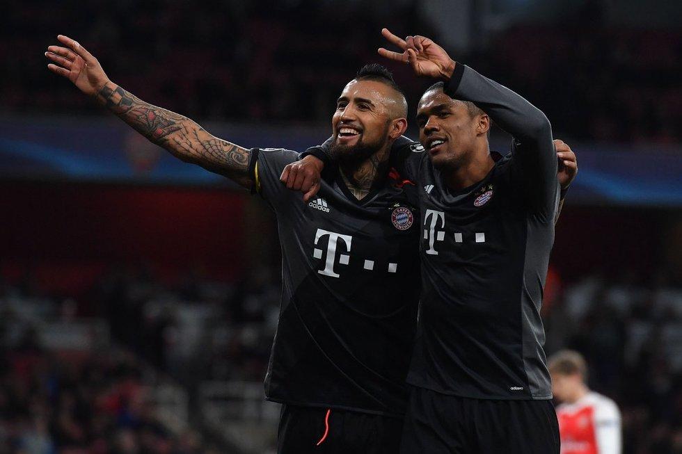 """Londono """"Arsenal"""" – Miuncheno """"Bayern"""" 1:5 (nuotr. SCANPIX)"""