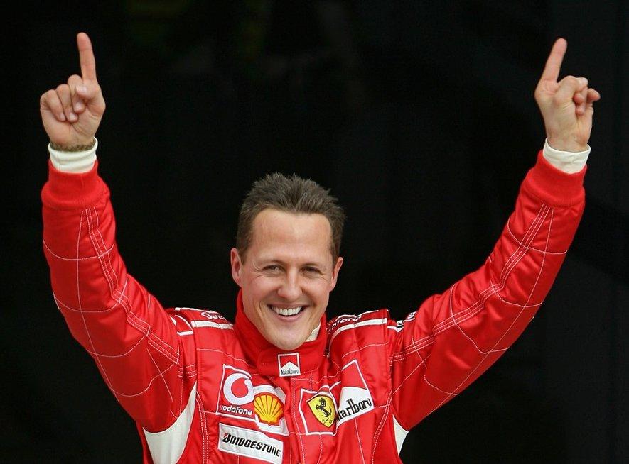 M. Schumacheris (nuotr. SCANPIX)