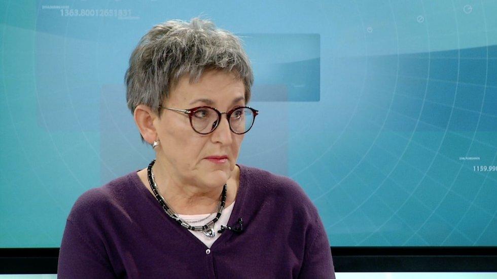 Epidemiologė Galina Zagrebnevienė (nuotr. stopkadras)