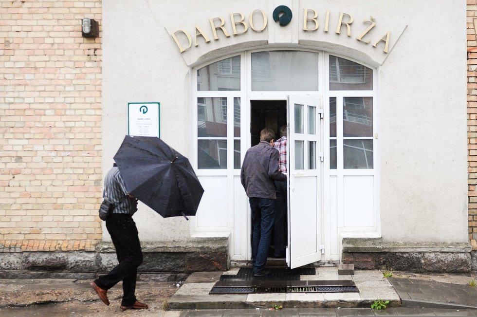 Darbo birža (nuotr. Fotodiena.lt/Tomo Lukšio)