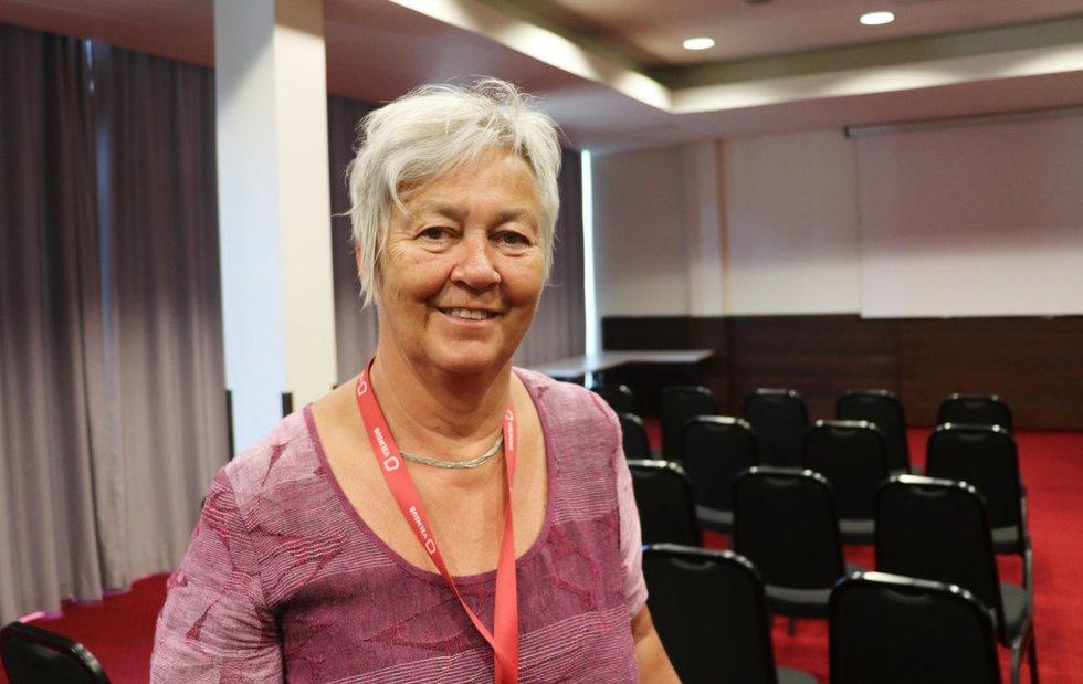 Helene Holand 6 metus buvo Norvegijos žmonių su intelekto negalia ir jų šeimų asociacijos prezidentė.  Sigitos Inčiūrienės nuotr.
