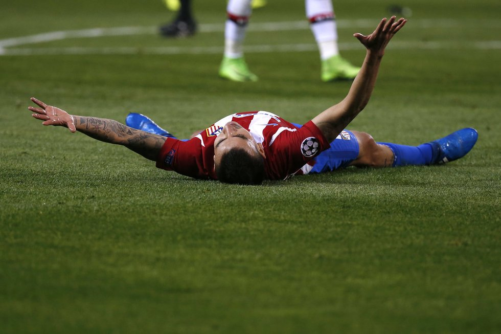 "Madrido ""Atletico"" – Lėverkuzeno ""Bayer"" (nuotr. SCANPIX)"