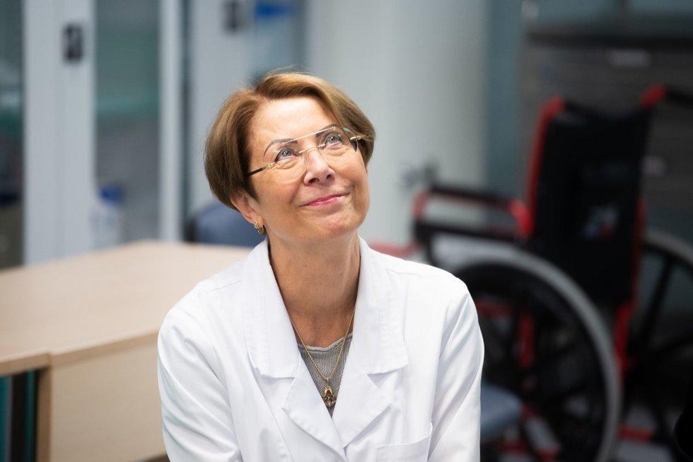 Vilniaus universiteto ligoninės Santaros klinikų Anesteziologijos, intensyvios terapijos ir skausmo gydymo centro vadovė profesorė Jūratė Šipylaitė