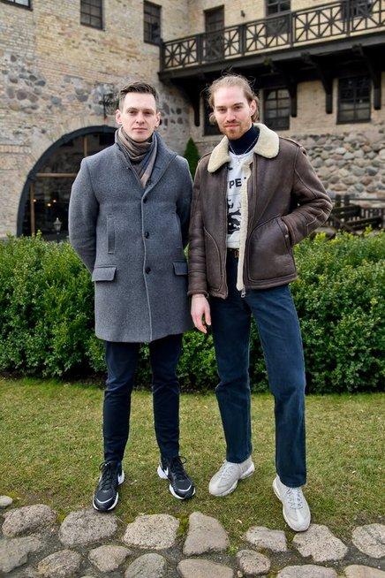 Osvaldas Vagelis ir Gabrielius Vagelis (tomasfoto.lt)