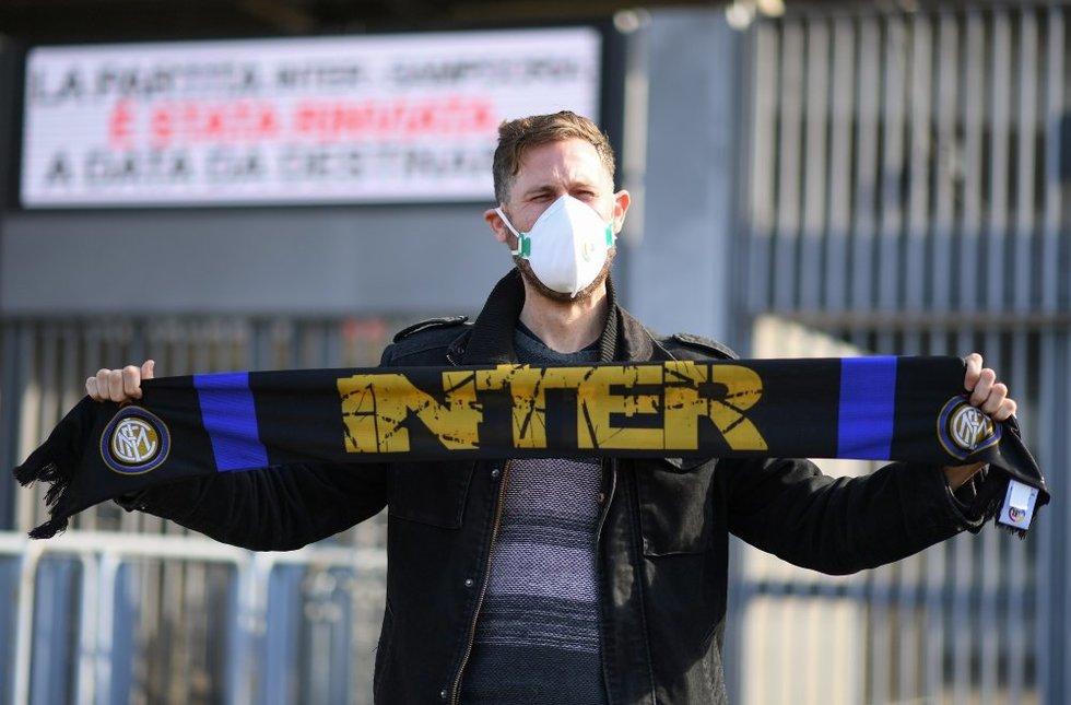 Milane bus žaidžiama be žiūrovų