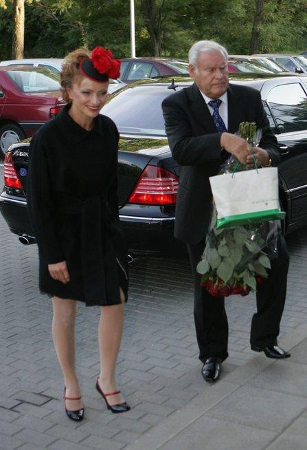 Lyda Lubienė ir Bronislovas Lubys