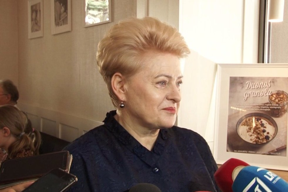 Dalia Grybauskaitė (nuotr. stop kadras)