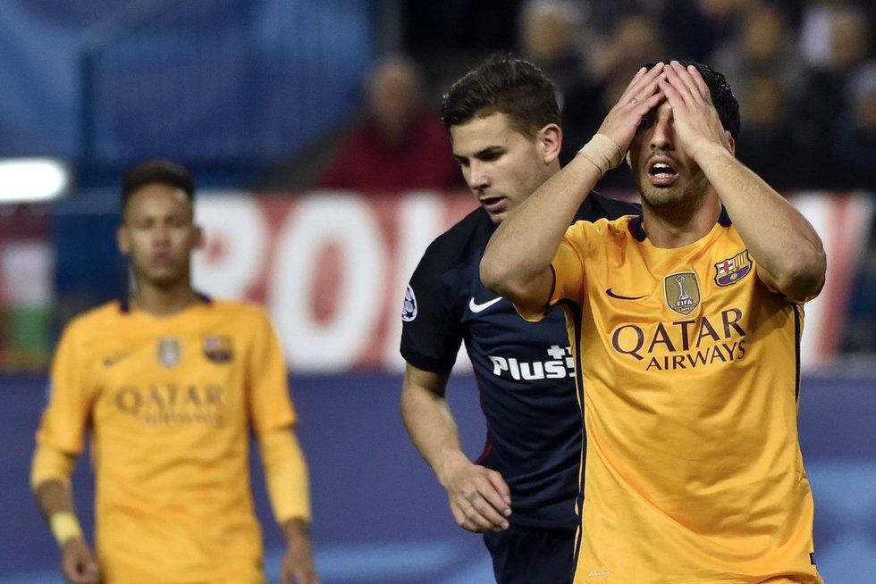 "Madrido ""Atletico"" – ""FC Barcelona"" (nuotr. SCANPIX)"