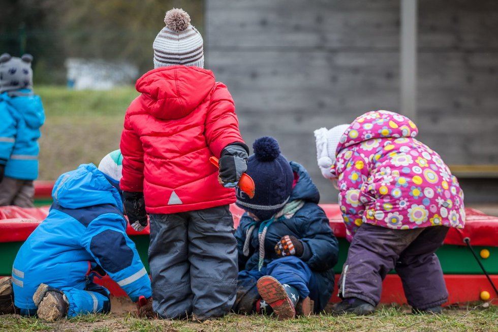 Vaikai  (nuotr. Sauliaus Žiūros)