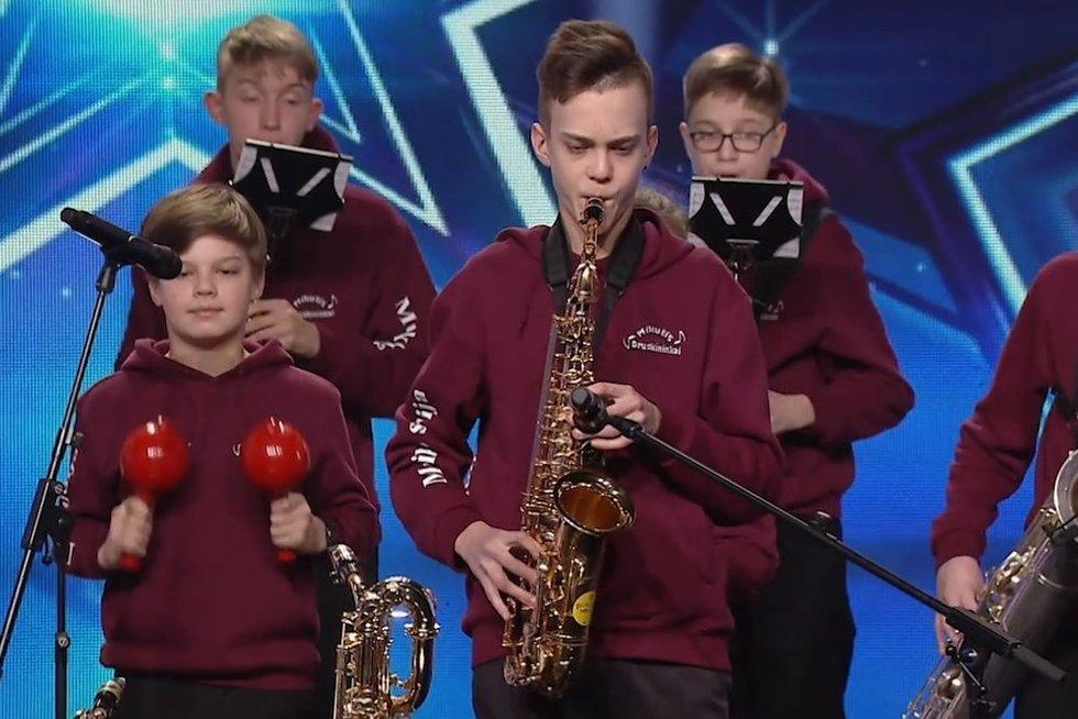 Druskininkų orkestrantai parodė, kodėl yra tokie mylimi: pavadinimas sukėlė Mikutavičiaus šypseną