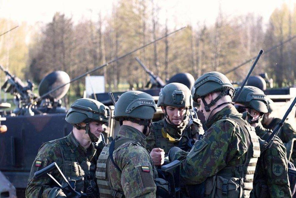 Greitojo reagavimo pajėgos įsitvirtino Marijampolėje ir Vilkaviškyje