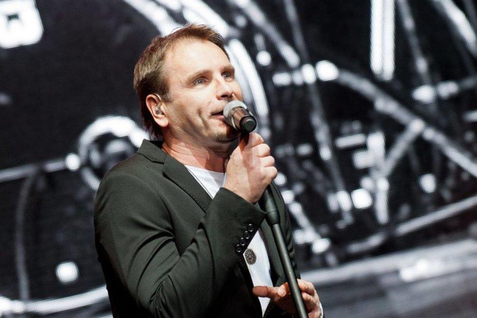 44-ąjį gimtadienį švenčia charizmatiškasis Marijonas Mikutavičius (nuotr. Fotodiena.lt)