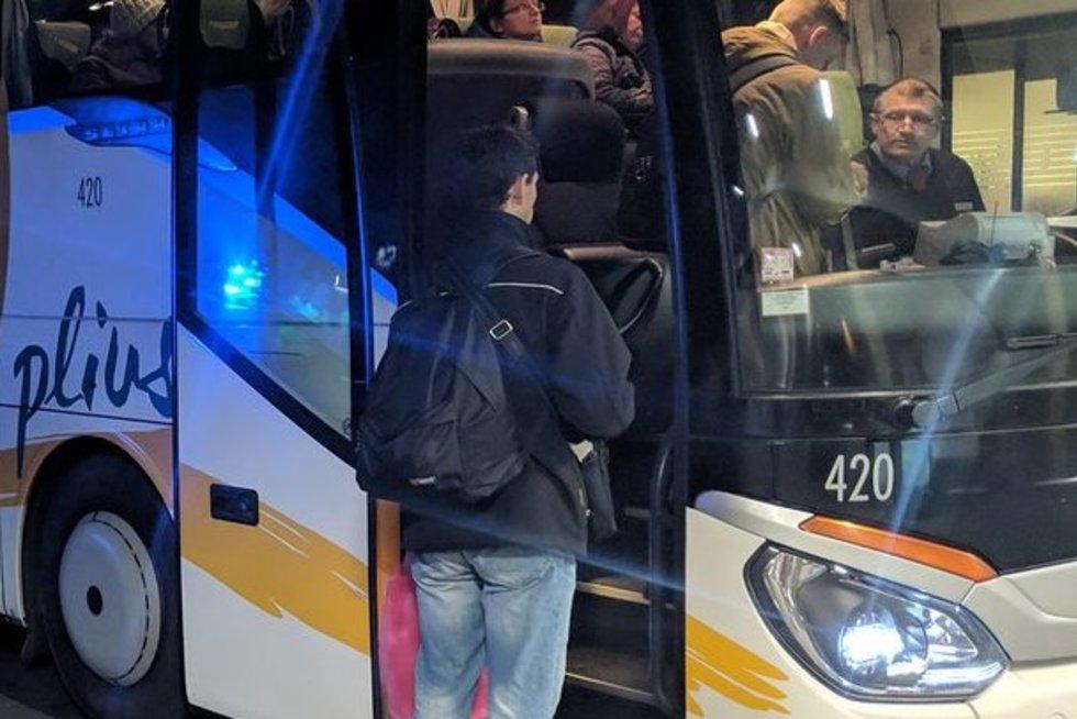 autobusas (nuotr. Broniaus Jablonsko)