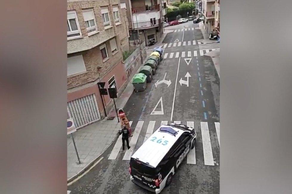 Gatvė (nuotr. stop kadras)