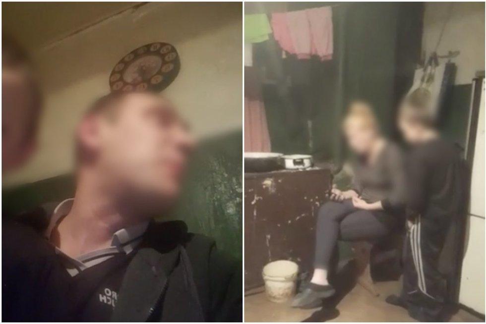 Po paviešinto vaizdo įrašo, sukilo lietuviai (TV3 koliažas) (nuotr. facebook.com)