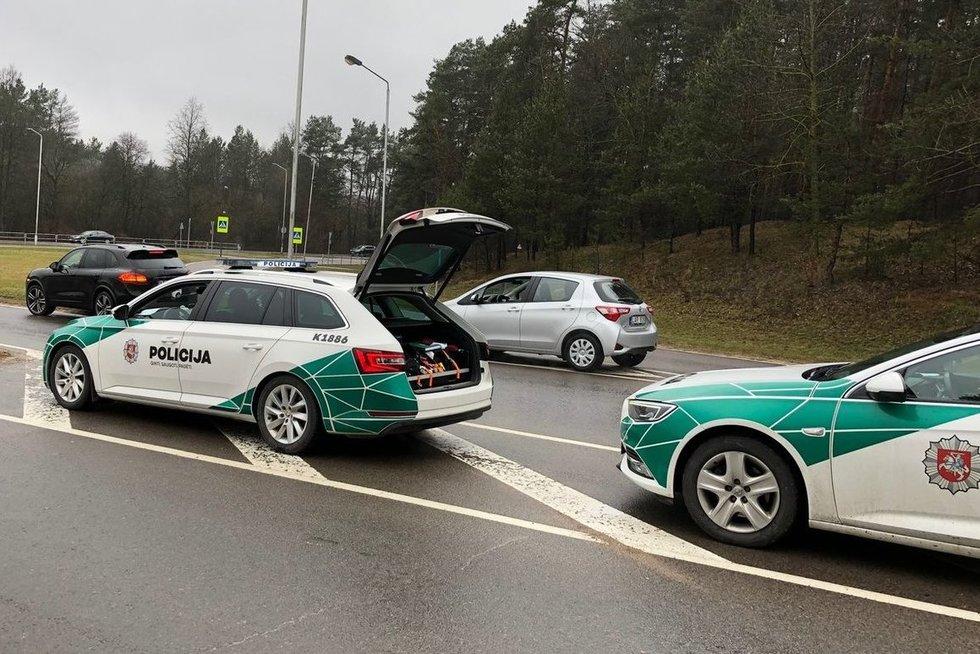 Savaitgalio reidas Kaune (nuotr. Lietuvos policija)