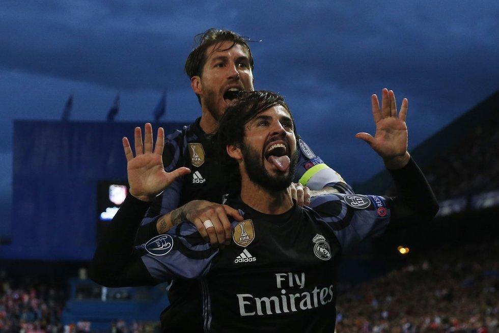 """Madrido derbis: """"Atletico"""" – """"Real"""" (nuotr. SCANPIX)"""